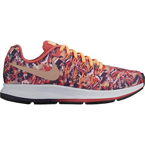 Nike Mädchen Zoom Pegasus 33 Laufschuh, Koral/bunt