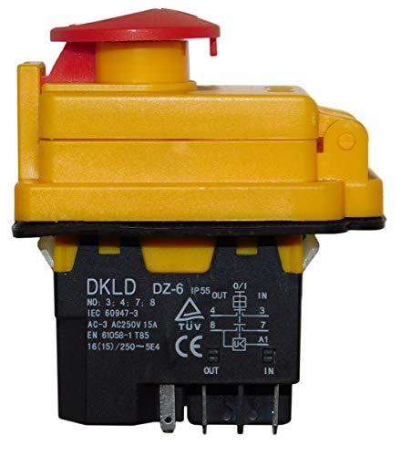 LIMEX Ersatzteil | Schalter für Betonmischer 125 LP/LS