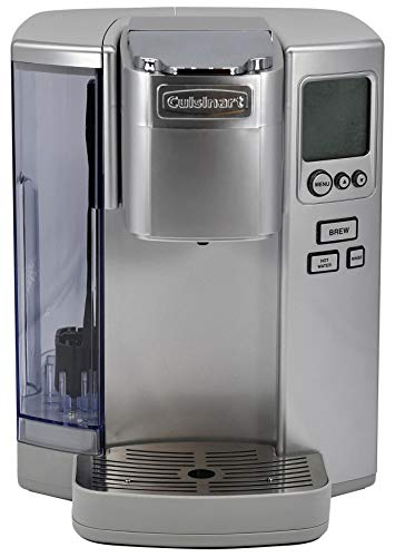 Cuisinart SS-10 Premium Single-Serve Coffeemaker, Light Grey