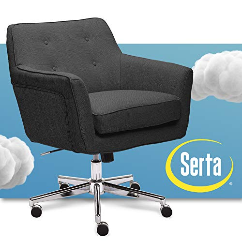 Sertaserta Ashland Ivory Home Office Chair Off White Dailymail