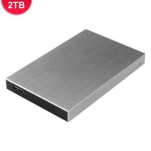 rosemaryrose Disco Duro Externo USB3.0 500GB 1TB 2TB Almacenamiento HDD Portátil De Alta Velocidad para PC Tablet TV