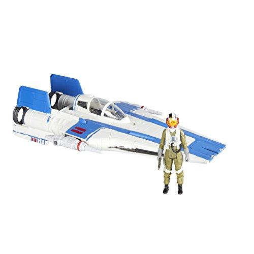 Hasbro Star Wars E1264ES1 Star Wars Episode 8 Klasse B Fahrzeuge AERO 1