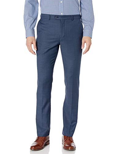 Original Penguin Men's Slim Fit Dress Pant, Blue Shark, 30W X 30L
