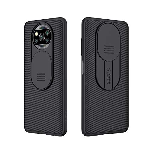 for Xiaomi Poco X3 NFC Case, Nilkkin CamShield Pro Slim case Protective Cover Case with Camera...