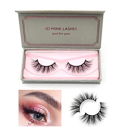 Visofree Eyelashes Mink Eyelashes Cruelty-free Full Volume 3D Mink Strip Eyelashes Dramatic False Eyelashes