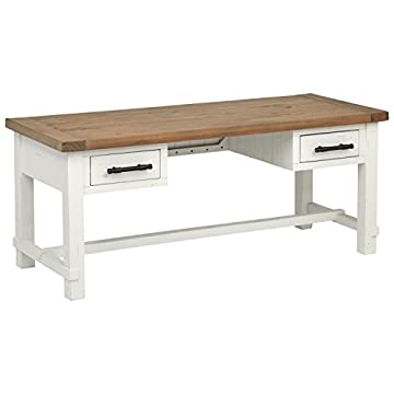 Stone & Beam Arie Rustic Farmhouse End Table