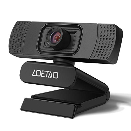 Webcam 1080P HD Webcam for Desktop Web Camera for Laptop with Noise Reduction Microphone