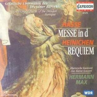 Hasse: Messe in D / Heinichen: Requiem
