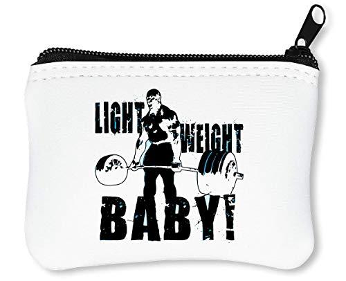 Ronnie Coleman Light Weight Baby Billetera con Cremallera Monedero Caratera