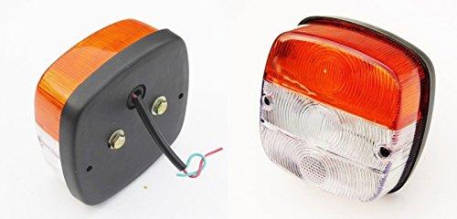 VORNE Blinker Einparkhilfe Blinker Massey Ferguson Traktoren Licht (links + rechts) 12V -11009601