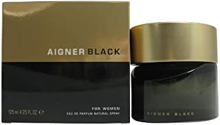 Aigner Black by Aigner for Women - Eau de Parfum, 125 ml