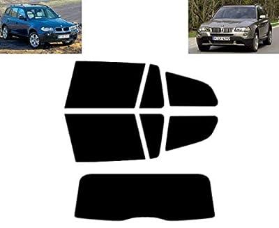 Film Solaire Prédécoupé Teinté pour-BMW X3 E83 5-Portes 2003-2010 Vitres Arrière & Lunette