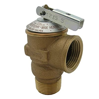 LASCO 05-1713 150 PSI Pressure Relief Valve with 3/4-Inch Pipe Thread from LASCO
