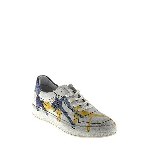 Felmini - Damen Schuhe - Verlieben Trump B009 - Sneakers - Echtes Leder - Mehrfarbig - 38 EU Size