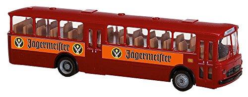 Faller FA161498 - Car System Start-Set MB O317k Bus Jägermeister, Zubehör für die Modelleisenbahn, Modellbau