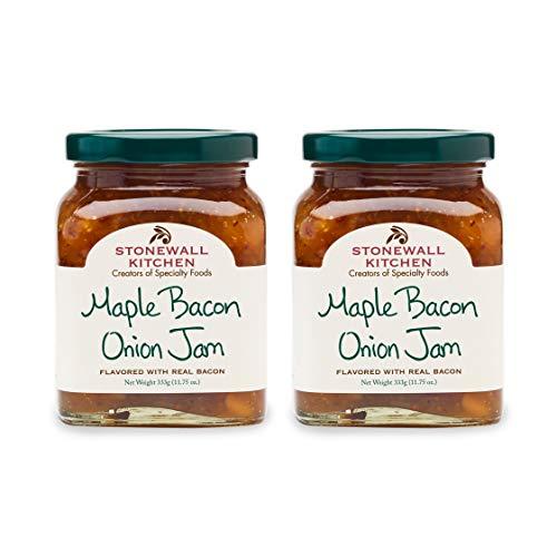 Stonewall Kitchen Maple Bacon Onion Jam, 11.75 oz (Pack of 2)