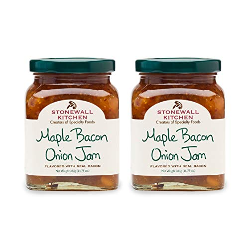 Stonewall Kitchen Maple Bacon Onion Jam, 11.75 oz (Pack of 2)