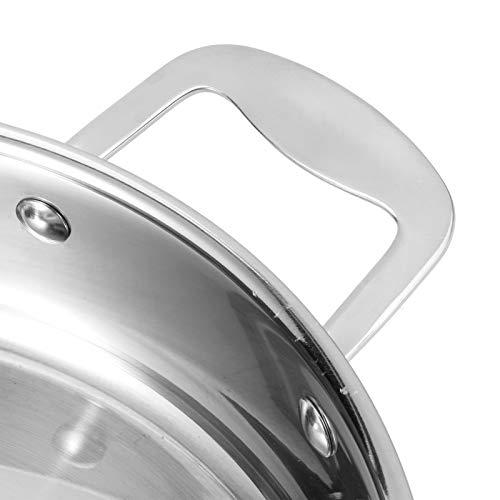Xirfuni Sartén de inducción, Sartén para estofar, Sartén de cocción, Multifunción para Estufa de Gas Estufa eléctrica
