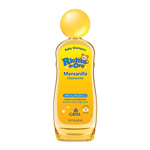 Ricitos de Oro Shampoo, Manzanilla, color Amarillo, 400 ml