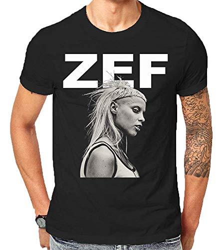 Zef Lifestyle Die Cool No Regrets Antwoord Gift T-Shirt Weihnachten (X-Large)