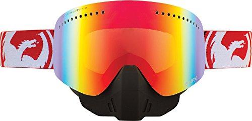Dragon NFX Snowmobile Goggles Fade/Red Ion