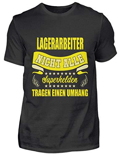 Lagerarbetare t-shirt present yrke roligt ordspråk – herr Shirt