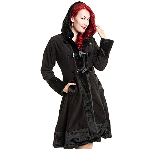 Poizen Industries Minx Coat Frauen Wintermantel schwarz XL 100% Polyester Undefiniert Industrial