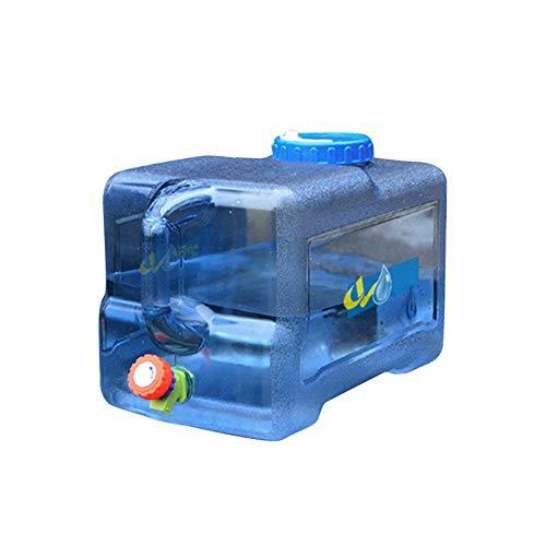 22L Contenedor De Agua Portátil Tanque De Almacenamiento Cubo Portátil Tanque De Agua para Automóvil con Grifo Anque De Acampar Al Aire Libre Potable, Categoría Alimenticia