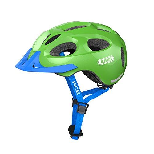 Abus Youn-I Ace Fahrradhelm, Sparkling Green, M (52-57 cm)