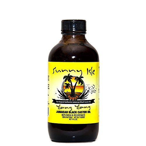 Sunny Isle Ylang Ylang Jamaican Black Castor Oil 4oz by Sunny Isle