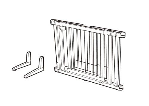 リッチェルペット用木製おくだけドア付ゲートS