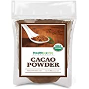 Healthworks Cacao Powder (80 Ounces / 5 Pounds) | Cocoa Chocolate Substitute | Certified Organic | Sugar-Free, Keto, Vegan & Non-GMO | Peruvian Bean/Nut Origin | Antioxidant Superfood