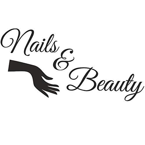 Boodecal Large Bar Collage Salon Decals Nails Beauty Hair Salon