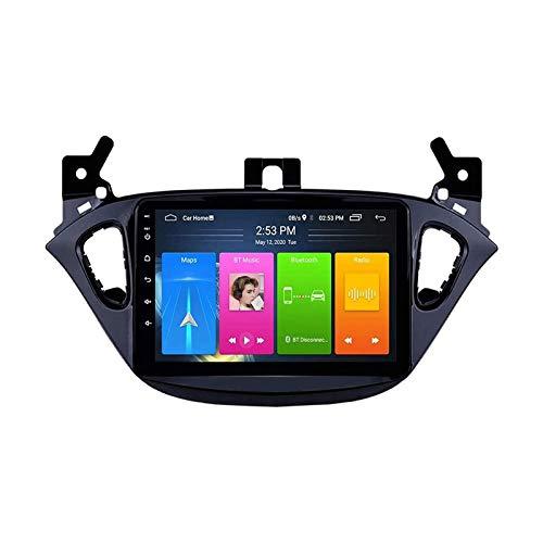 2.5D Touchscreen Player Multimediale Automobile Autoradio Stereo Per Opel Corsa 2015-2019/ADAM 2013-2016 FM Récepteur with Mirrorlink Bluetooth Wifi USB GPS Navigazione,4 core 4g+wifi: 2+32gb
