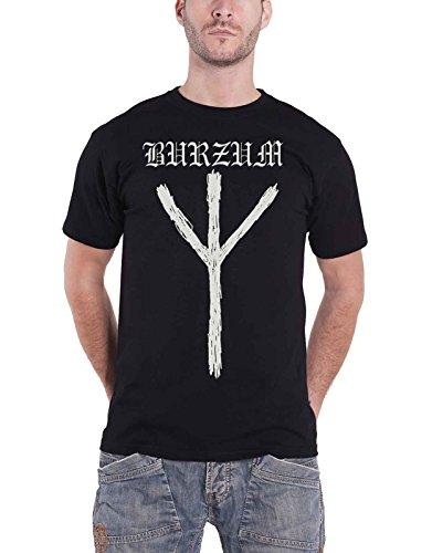 Burzum T Shirt Rune Band Logo Nue offiziell Herren