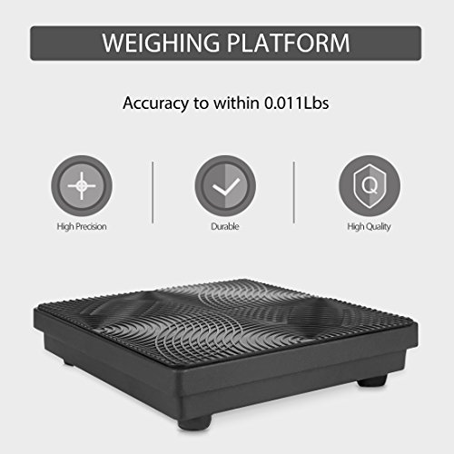 VIVOHOME High Precision Electronic Digital Refrigerant Charging Weight Scale with Case for HVAC 220LB