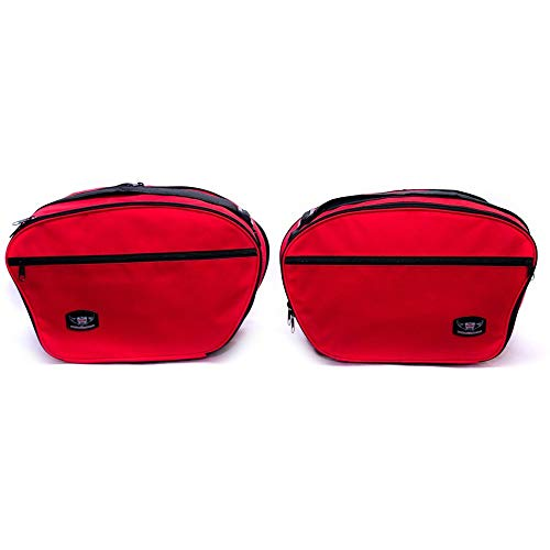 GREAT BIKERS GEAR - Alforjas para Ducati Multistrada 1200 Panniers Red Color...
