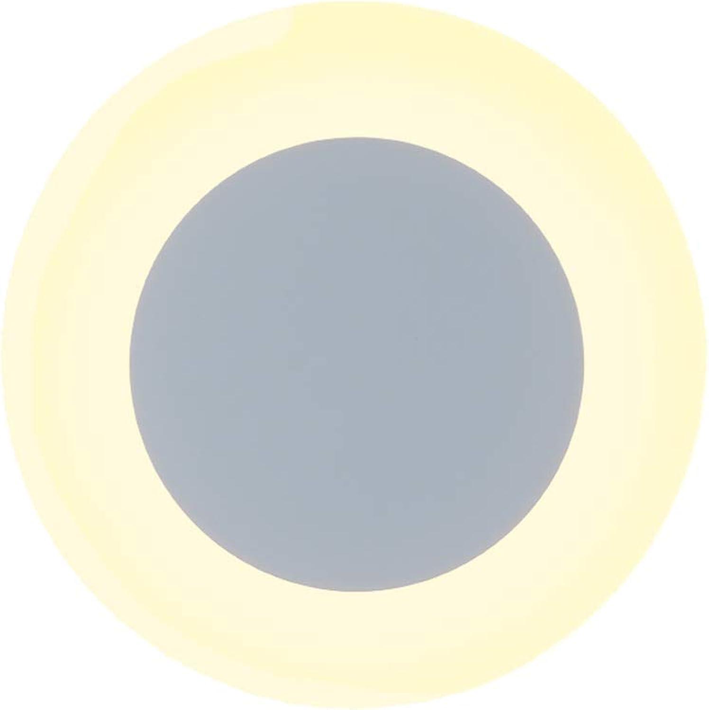 SUNA LED Runde LED Wandleuchte Einfache Kreative Persnlichkeit Wohnzimmer Schlafzimmer Nachttischlampe (energiesparende A + +)