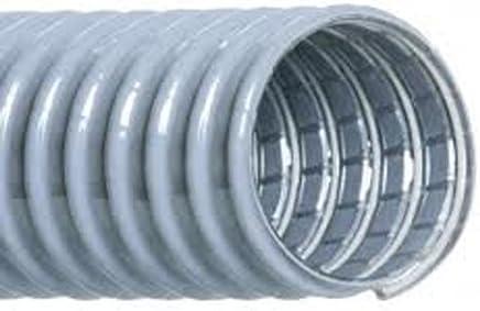 2 2 3610200000560 Grey Hi-Tech Duravent Vac-U-Lok Series PVC Threaded Cuff