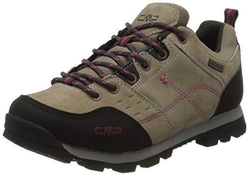 CMP – F.lli Campagnolo Damen Alcor Low Wmn Shoes Wp Trekking-& Wanderhalbschuhe, Braun (Desert P613), 39 EU