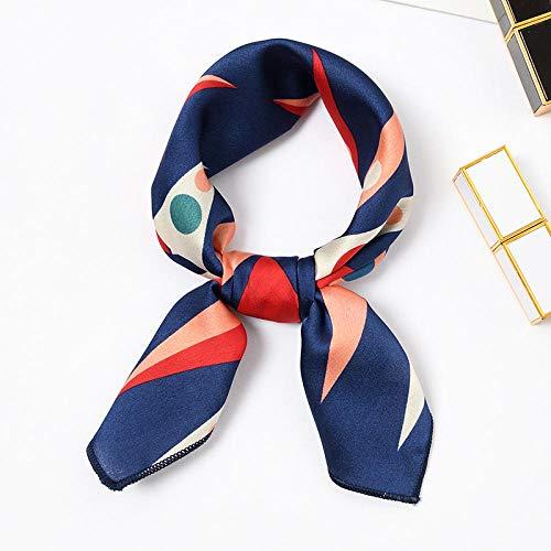 HMGHBMG Schal Kleine Quadratische Schal Weiblich Halstuch In Aktuellen Dekorative Schal Handtuch Ampel 50X50Cm
