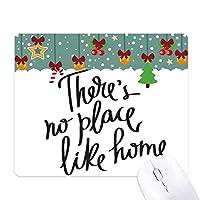 ホームの引用のような場所がありません ゲーム用スライドゴムのマウスパッドクリスマス