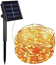 Christmas Decorations LED Solar String Lights Outdoor 10米 100 LED Solar Powered String Fairy Tree Light with 8 Lighting Mo...