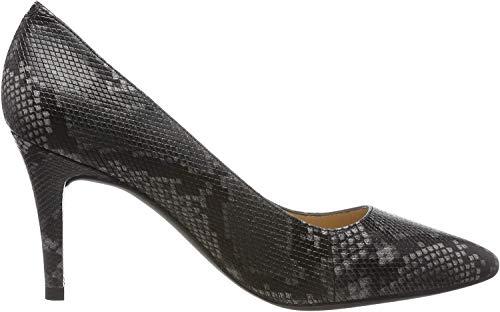 Unisa Tola_f19_vp, Zapatos de Tacón para Mujer, Gris (Tempest Tempest), 39 EU