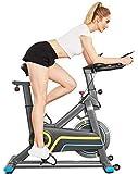 ANCHEER Vélo d'appartement Vélo de Fitness Vélo d'exercice avec Affichage LCD et Contrôle...