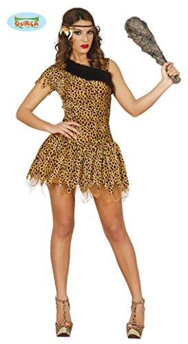 Costume carnevale/festa - costume da antenato preistorico - donna - taglia S