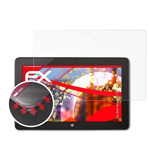 atFolix Schutzfolie kompatibel mit Dell Venue 11 Pro 5000/7000 Folie, entspiegelnde & Flexible FX Bildschirmschutzfolie (2X)
