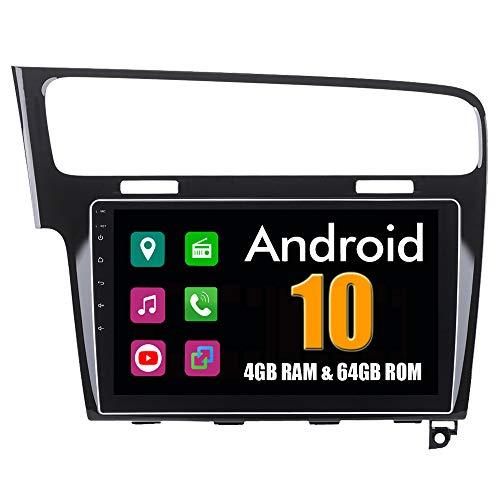 Roverone 10,2 Pouces Android 6.0 Octa Core Autoradio Lecteur GPS de Voiture pour VW pour Volkswagen Golf 7 2013-2017 avec Navigation Radio stéréo Bluetooth Mirror Link Full écran Tactile