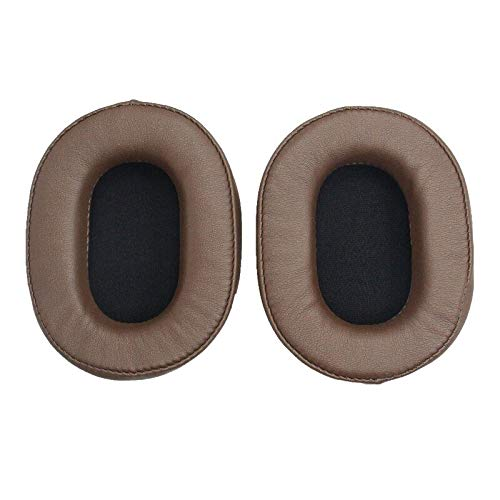 Ear Pads, 1 Pair of Sleeve Earpads Pillow Replacement Ear Pads for Sony MDR-ZX770BN MDR-ZX780DC Headphones MDR ZX770BN ZX780DC - (Color: Brown)