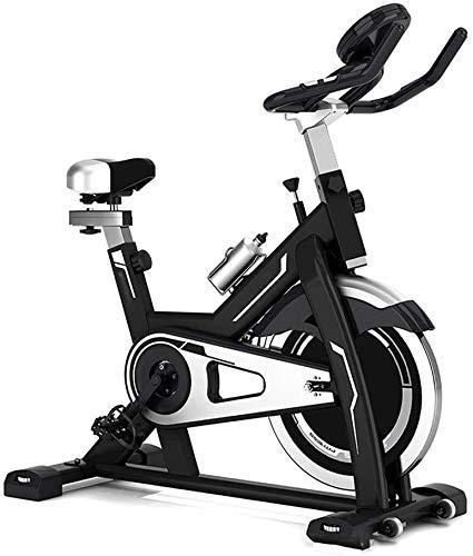 Indoor Heimtrainer, Spin Bike Studio Cycles Studiogeräte Cardio Workout Magnetic Heimtrainer, Einstellbarer Lenker Sitz Funktionen Geschwindigkeit Zeit Entfernung Kalorien Maximale Belastbarkeit 150kg